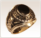 firefighter award ring